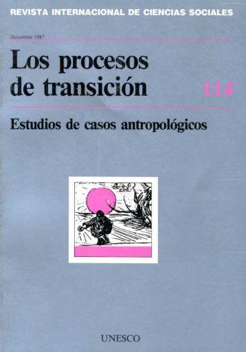 Los Procesos de transicíon: estudios de casos ... - unesdoc - Unesco