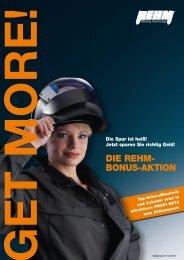 DIE REHM- BONUS-AKTION - Rehm GmbH  u. Co KG