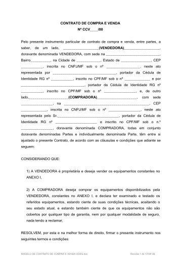 Escritura particular de compra e venda pdf