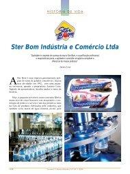 Ster Bom Indústria e Comércio Ltda - Sorveteria Confeitaria Brasileira