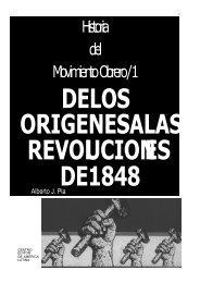 Historia del MovimientoObrero/1 - Buscando Historia