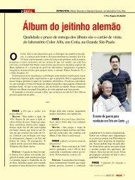 Entrevista Revista Fhox - Alfa Fotobook
