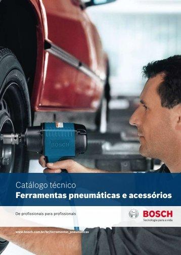 Catálogo técnico Ferramentas pneumáticas e acessórios - Bosch