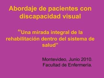 Abordaje de Pacientes con Discapacidad Visual - Itxaropena