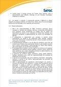 normas de operação do teatro sesc palmas - SESC Tocantins - Page 3