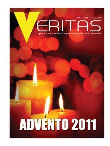 """Veritas"" - nº2 - Novembro 2011 - Paróquia de Carcavelos"
