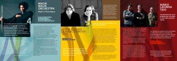MAGIK MALIK ORCHESTRA SOFIA RIBEIRO & MARC ... - acert