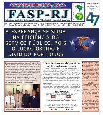 servidor público - FASP-RJ