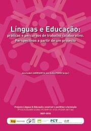 Línguas e Educação: - Línguas & Educação - Universidade de Aveiro