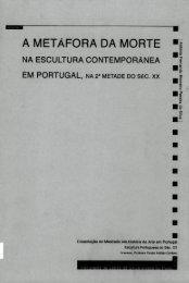 a metáfora da morte - Repositório Aberto da Universidade do Porto