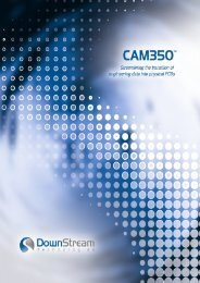 CAM350™ - Ein kompletter Flow zur PCB ... - Zitzmann GmbH