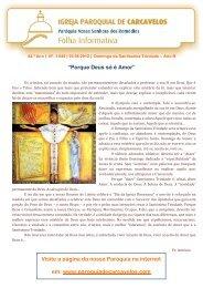 Edição nº 1649 - 3 de Junho de 2012 - Paróquia de Carcavelos