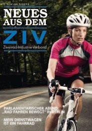"""""""Neues aus dem ZIV"""" – 1. Ausgabe 2013"""