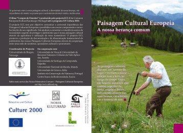 Paisagem Cultural Europeia Paisagem Cultural Europeia