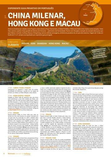 CHINA MILENAR, HONG KONG E MACAU - Nortravel