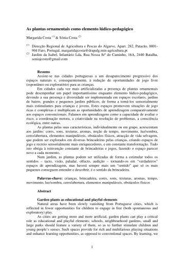 Consulte aqui o artigo completo - DRAP Algarve
