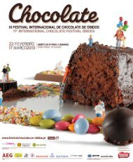 Programa - Festival Internacional de Chocolate de Óbidos