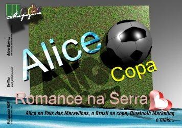 Alice no País das Maravilhas, o Brasil na copa ... - werbe.com.br