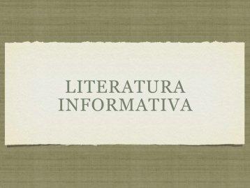 Literatura Informativa - marcelo::frizon