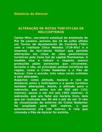alterao de rotas tursticas de helicpteros - Nova pagina 1