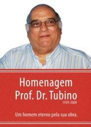 Opúsculo em Homenagem ao Prof. Dr. Tubino. - CREF6 MG