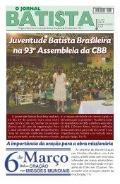 Edição 08 - Convenção Batista Brasileira