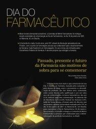 DIA DO FARMACÊUTICO - Conselho Federal de Farmácia
