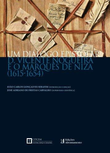 um diálogo epistolar: D. Vicente Nogueira e o Marquês de Niza ...