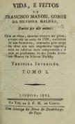 Vida, e feitos de Francisco Manoel Gomes da Silveira Malha - Page 5