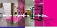 objetivo síntese dos projetos - Instituto Tomie Ohtake