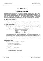 capítulo 4 o método simplex