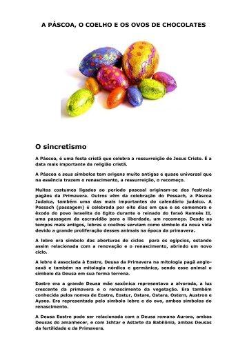 A Páscoa, o Coelho e os Ovos de - ASEAC