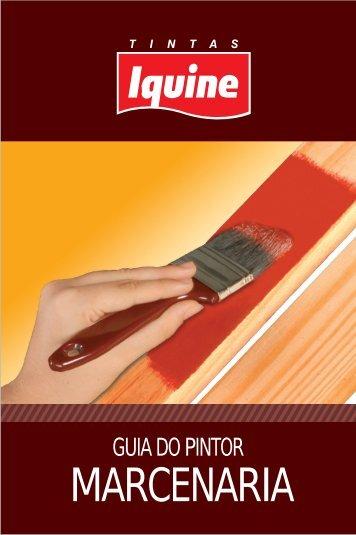 GUIA DO PINTOR MARCENARIA - Casa das Tintas