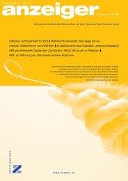 Zahnärztlicher Anzeiger Nr. 19 vom 06. September 2010