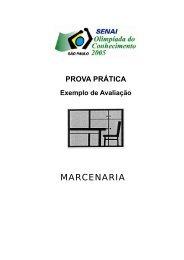 MARCENARIA - Senai