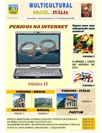 Revista_25_MAR_ABR_2012 - Revista Multicultural Brasil & Italia
