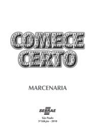 Marcenaria - Sebrae SP