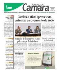 Jornal da Câmara do dia 15 - Câmara dos Deputados