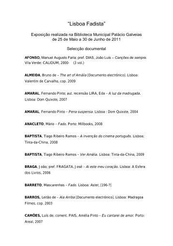 Exposição Lisboa Fadista (ficheiro em PDF) - BLX