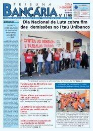Dia Nacional de Luta cobra fim das demissões no Itaú Unibanco