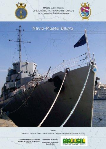 óf//ÁV/ Navio-Museu Bauru