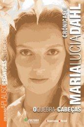 Maria Lucia Dahl - Livraria Imprensa Oficial