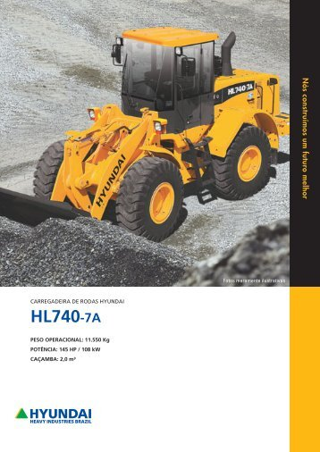 HL730-7 HL740-7A - chb rental