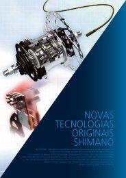 NOVAS TECNOLOGIAS ORIGINAIS SHIMANO