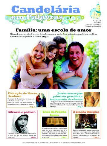 Jornal de Julho - Paróquia Nossa Senhora da Candelária