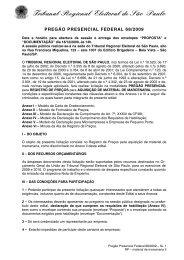 RP edital e anexos - material de marcenaria - TRE-SP