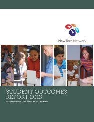 STUDENT OUTCOMES REPORT 2013