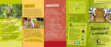Download Flyer Informacje i Mapa (PDF 1.1 MB) - Zoo Eberswalde