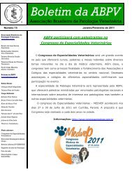 Número 15 - Janeiro/Fevereiro 2011 - Associação Brasileira de ...