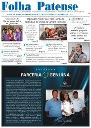Folha Patense 12/03/2011(nº 933